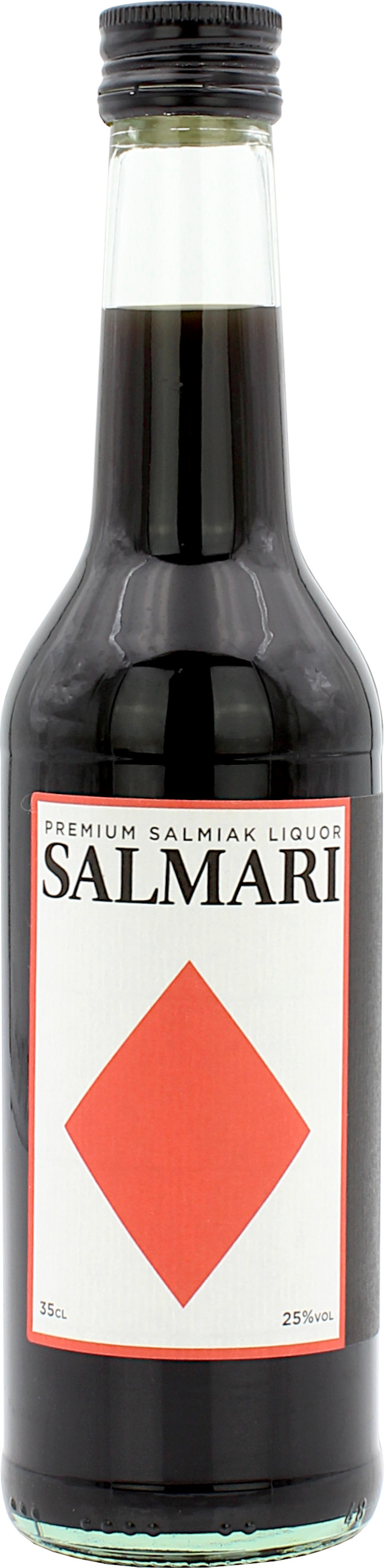Salmari Premium Salmiak Lakritz Likör 25.0% 0,35l