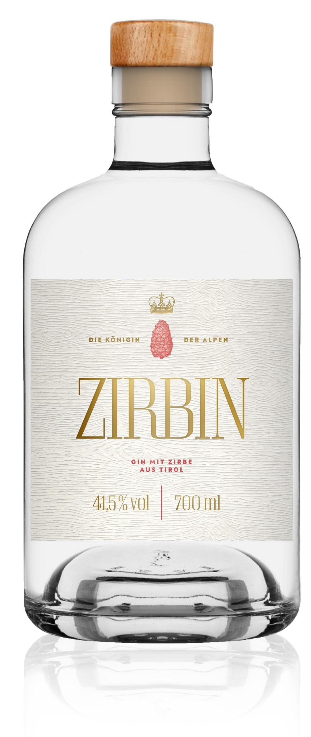 Zirbin Tiroler Dry Gin 41.5% 0,7l