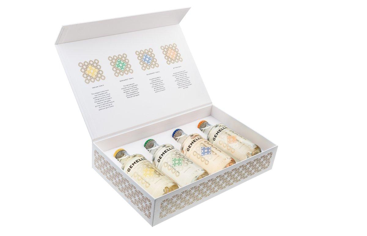 4er Pack GEMELLii Tonic Geschenkset Premium alle Sorten 4x0,2l